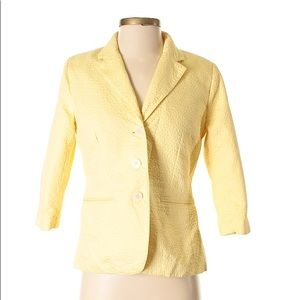 ISAAC MIZRAHI Yellow Blazer